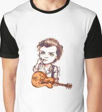 Guitar Pick Bite Graphic T-Shirt
