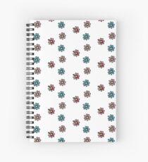 Flower - 3 Pack Floral Spiral Notebook