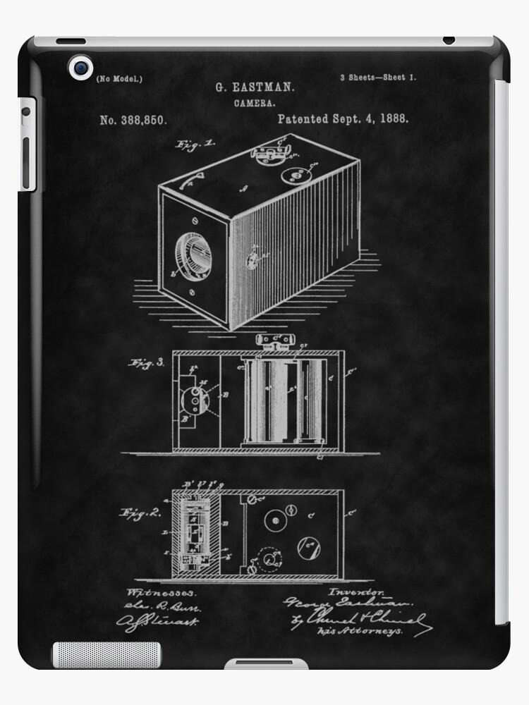 Eastman's 1888 Camera Patent Art_BK by Barry  Jones