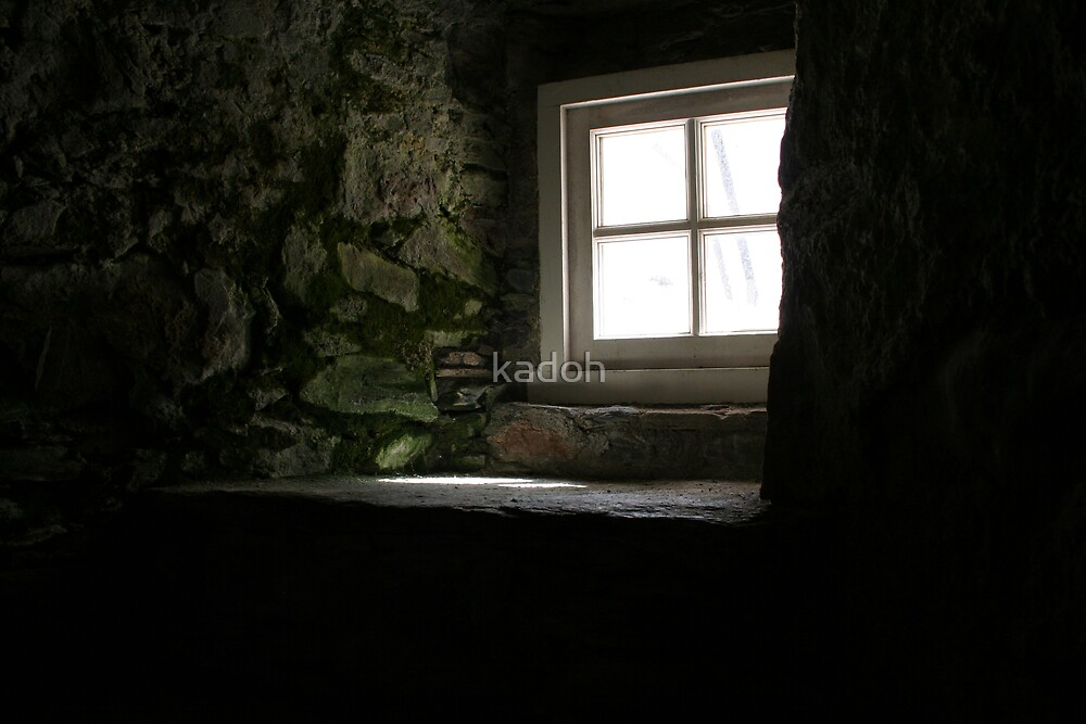 Window at Corgarff by kadoh