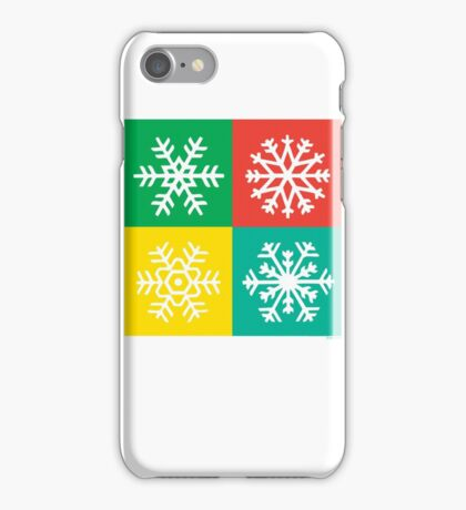 Snowflakes -  jewels iPhone Case/Skin