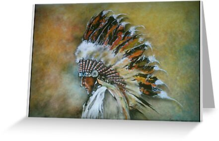 Native american greeting cards by kitter redbubble native american by kitter m4hsunfo