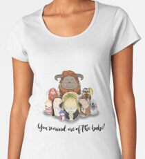 You Remind Me of the Babe - Labyrinth Women's Premium T-Shirt