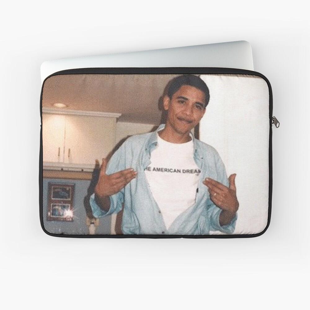 Der amerikanische Traum - Obama Print Laptoptasche