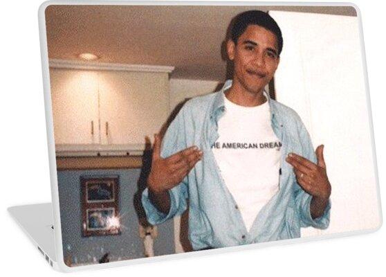 Der amerikanische Traum - Obama Print von budgetnudest