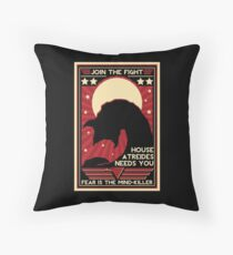 Fear is the Mind-Killer Throw Pillow