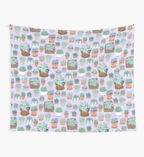 Succulent Love Wall Tapestry