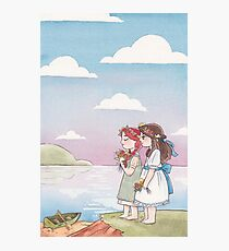 Anne & Diane of Green Gables Photographic Print