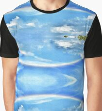 The Reflecting Rainbow  Graphic T-Shirt