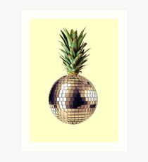 Ananas Party (Ananas) Kunstdruck