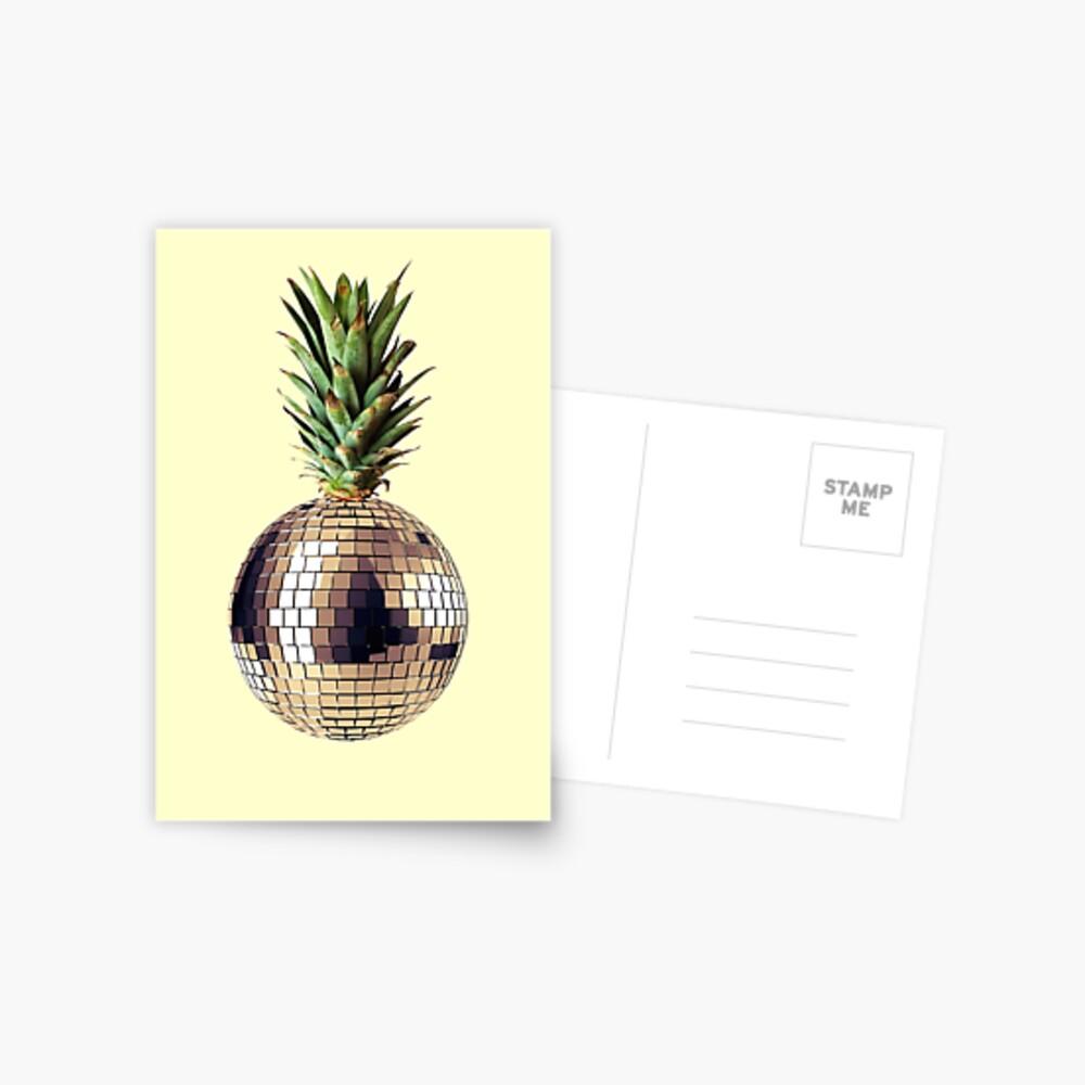 Ananas Party (Ananas) Postkarte