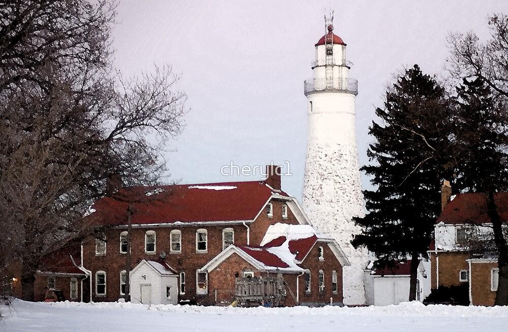 Fort Gratiot Light House by cherylc1