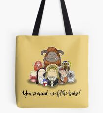 You Remind Me of the Babe - Labyrinth Tote Bag