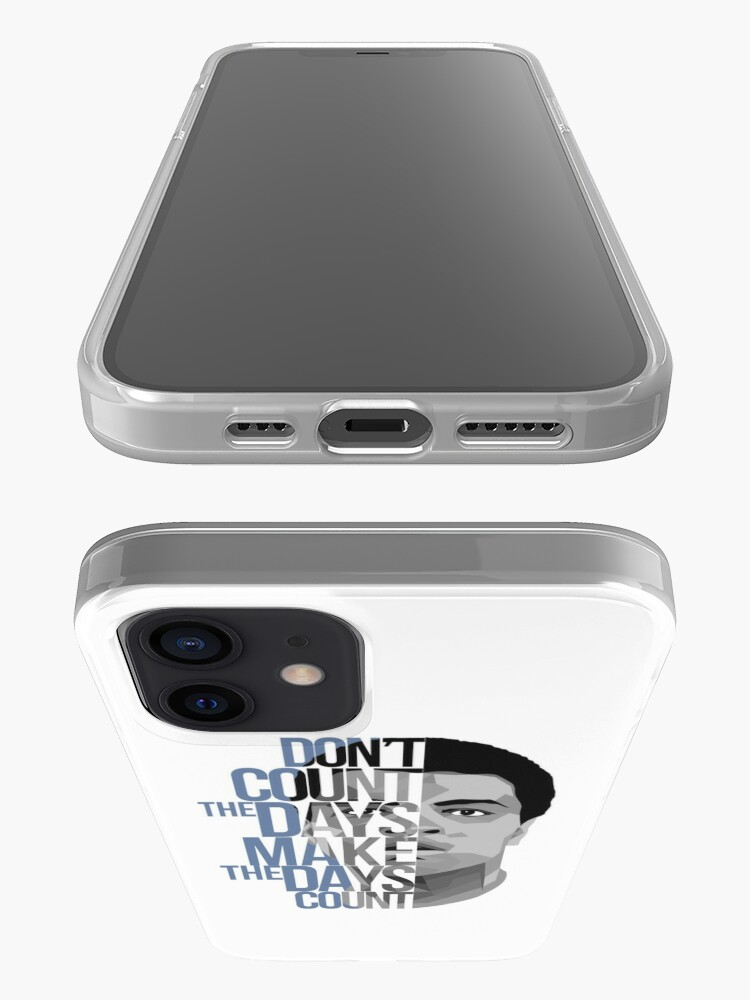 Alternate view of Don't Count The Days iPhone Case & Cover