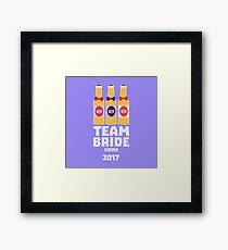 Team Bride China 2017 R45g8 Framed Print