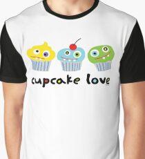Cupcake Love - beige Graphic T-Shirt