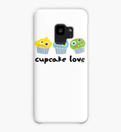 Cupcake Love - beige Case/Skin for Samsung Galaxy