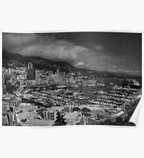 Monaco - La Condamine 001 BW Poster