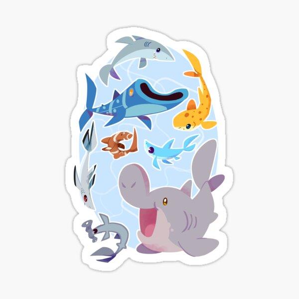Sharksharkshark Sticker