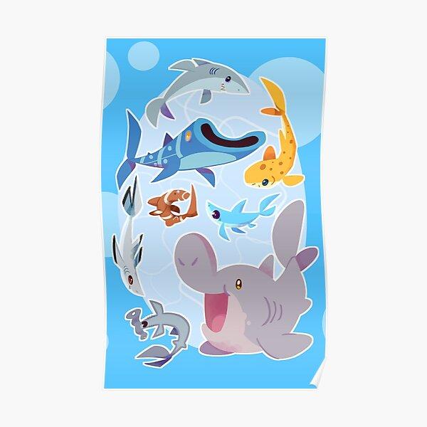 Sharksharkshark Poster