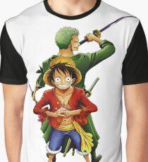 One Piece Luffy & Zoro  Graphic T-Shirt