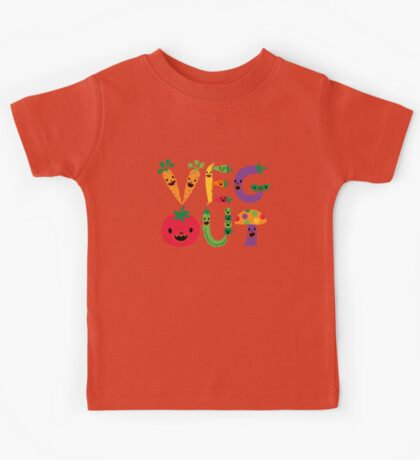 Veg Out dark Kids Clothes