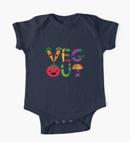 Veg Out dark Kids Clothes