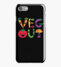 Veg Out dark iPhone Case/Skin