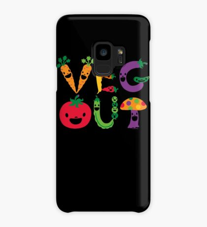 Veg Out dark Case/Skin for Samsung Galaxy