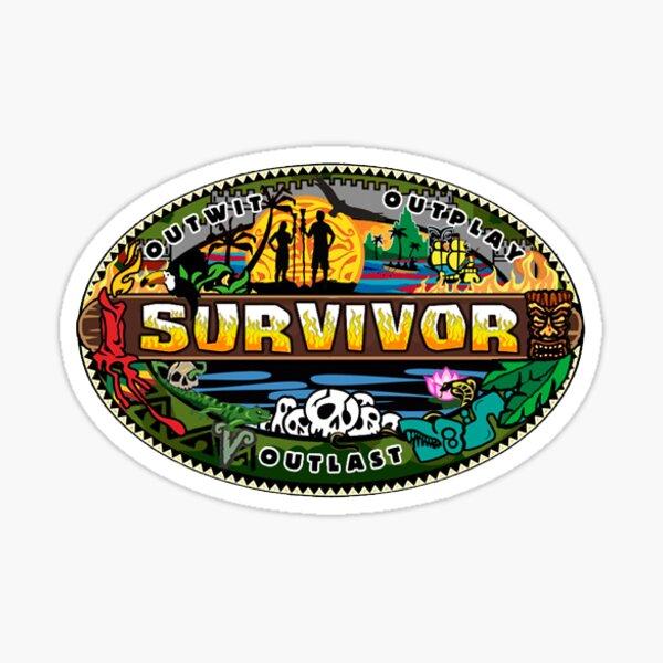 Survivor Logo Sticker