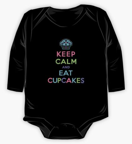 Keep Calm and Eat Cupcakes - on darks Kids Clothes