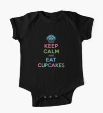 Keep Calm and Eat Cupcakes - on darks One Piece - Short Sleeve