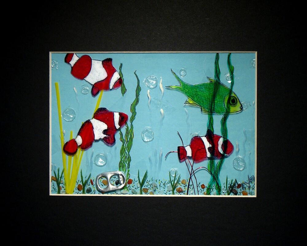 The Green Fish  by Evelyn Reinprecht
