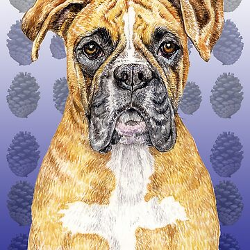 Boxer Dog to Love with Brilliance by didielicious