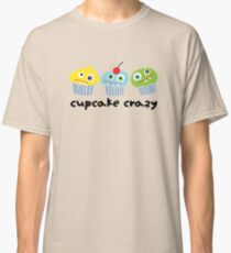 Cupcake Crazy - beige Classic T-Shirt