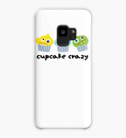 Cupcake Crazy - beige Case/Skin for Samsung Galaxy