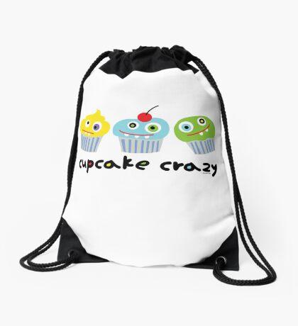 Cupcake Crazy - beige Drawstring Bag