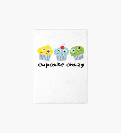 Cupcake Crazy - beige Art Board