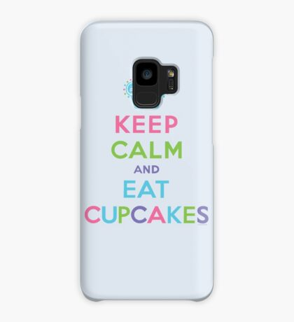 Keep Calm and Eat Cupcakes - beige Case/Skin for Samsung Galaxy