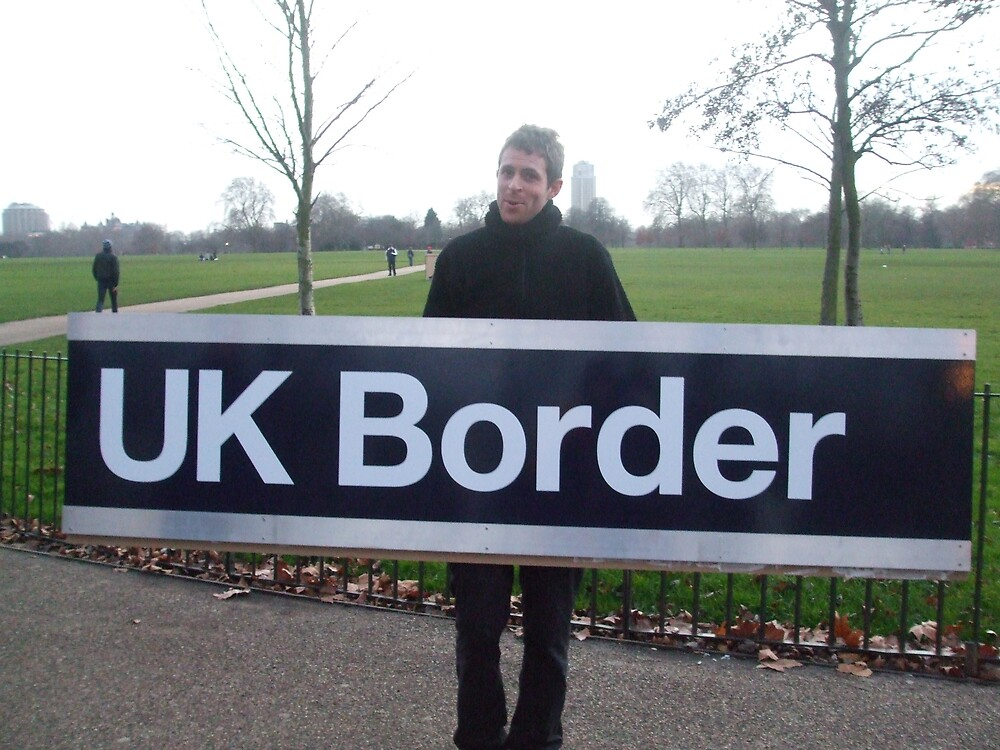 UK BORDER by Deirdre Banda