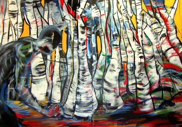Birch Trees by mataki