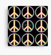 Summer of Love 50th Anniversary - Hippies to Hipsters Canvas Print