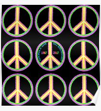 Summer of Love 50th Anniversary - Hippies to Hipsters Poster