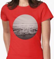 Ocean Crash Womens Fitted T-Shirt
