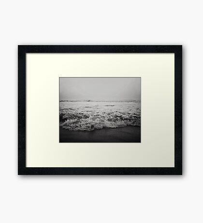 Ocean Crash Framed Print