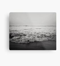 Ocean Crash Metal Print
