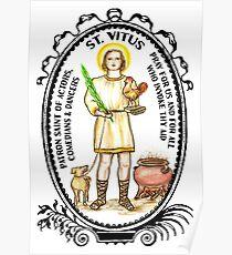 Saint Vitus Patron of Actors, Comedians, Dancers Poster