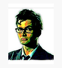 The Doctor Is Tennant Photographic Print