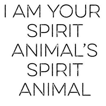 Spirit Animal by travismchugh