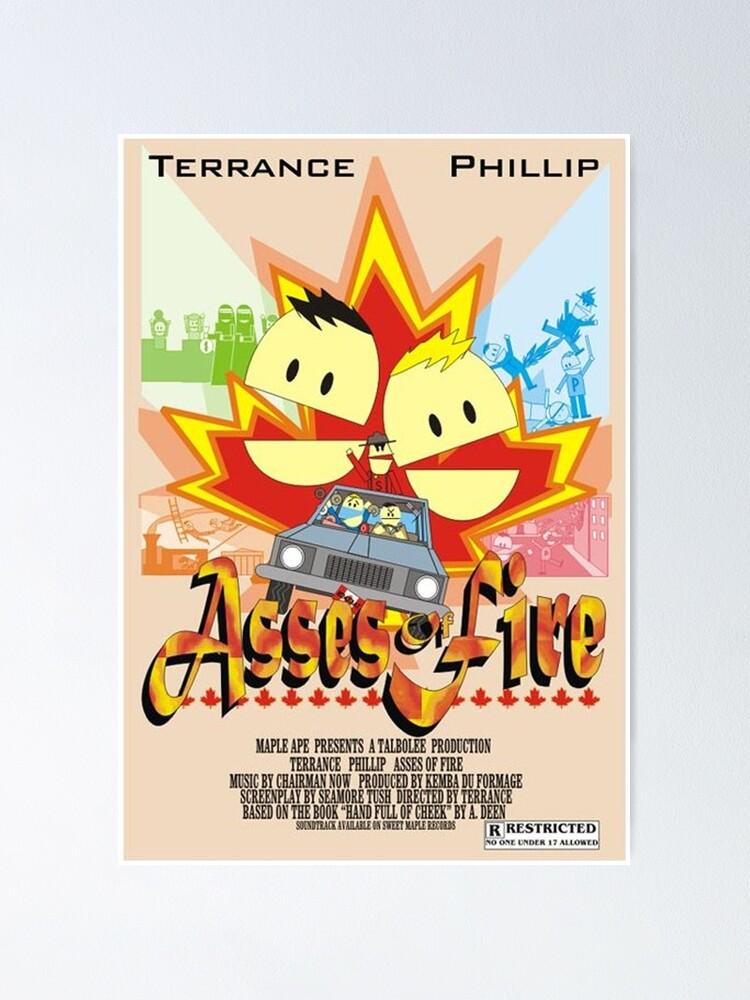 Alternative Ansicht von SP Asses of Fire Terrance und Phillip Fankunst. Poster